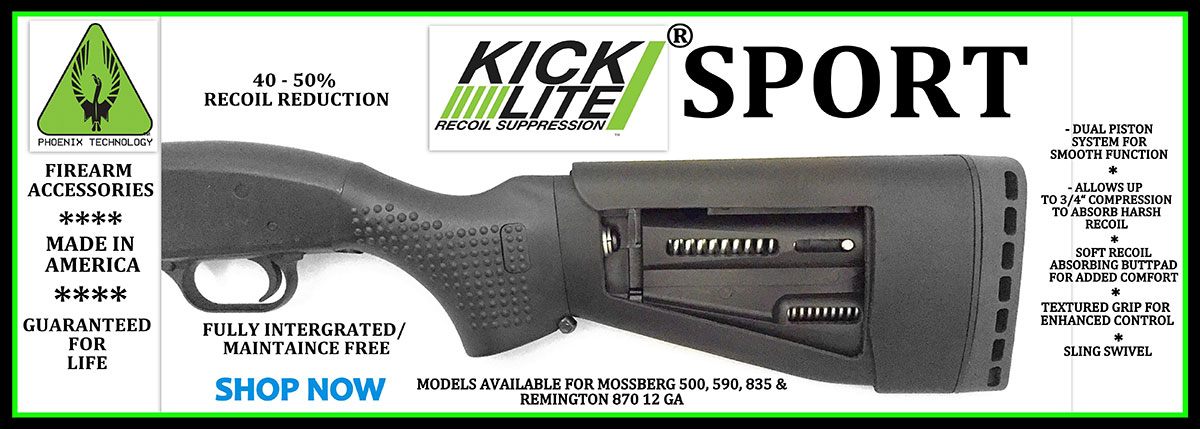 KickLite Recoil Suppression Sport